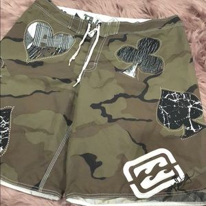Billabong camo board shorts